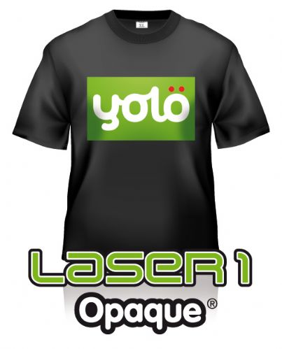 Laser 1 Opaque® Laser Heat Transfer Paper